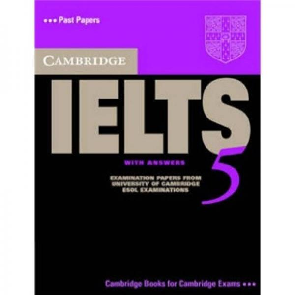 Cambridge IELTS 5 Students Book with Answers